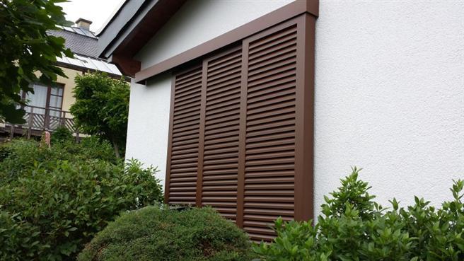 Schiebe Fensterläden schiebeläden fensterläden aluminium klapp schiebe